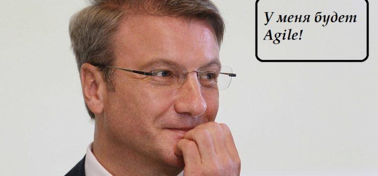 Герман Греф Agile